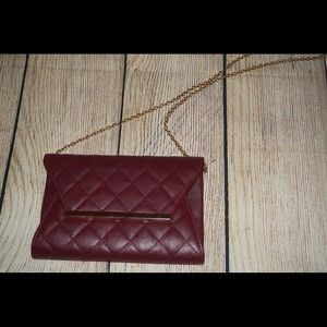 Handbags - Small clutch with chain handle